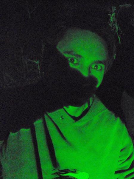 Dans le laser vert de l'Axe Majeur