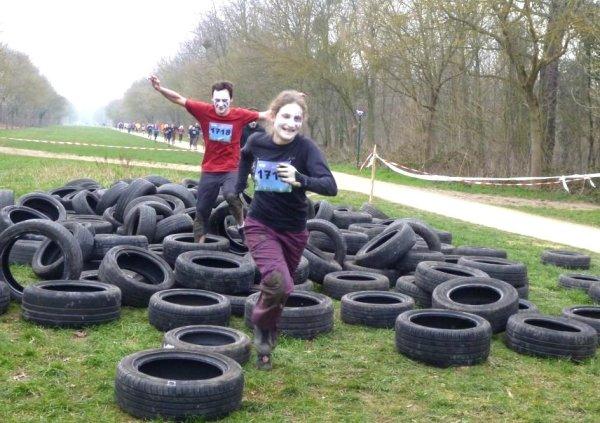 Obstacle SoMad - Les pneus