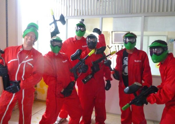 paintball operation carnage - equipe