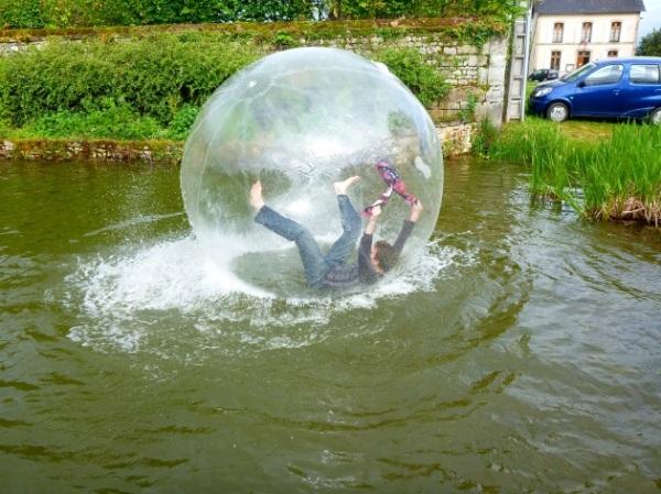 waterball - chute