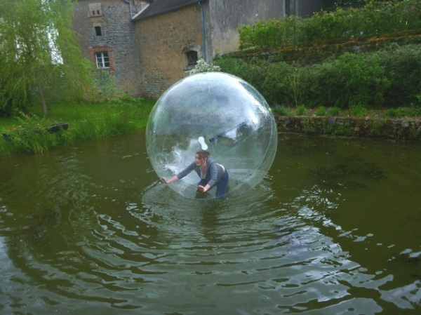 waterball - sur l eau 1