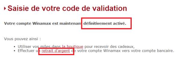 Winamax - arnaque mudday