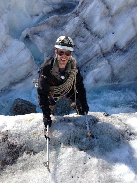 Mer de glace le retour - Grimpe aux piolets