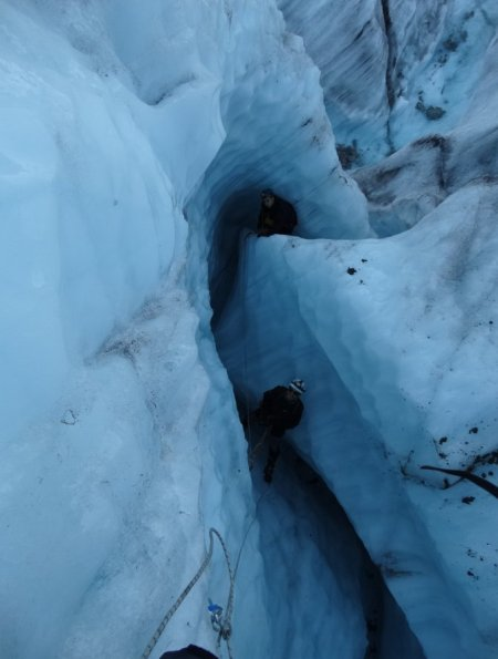 Mer de glace le retour - mini canyon