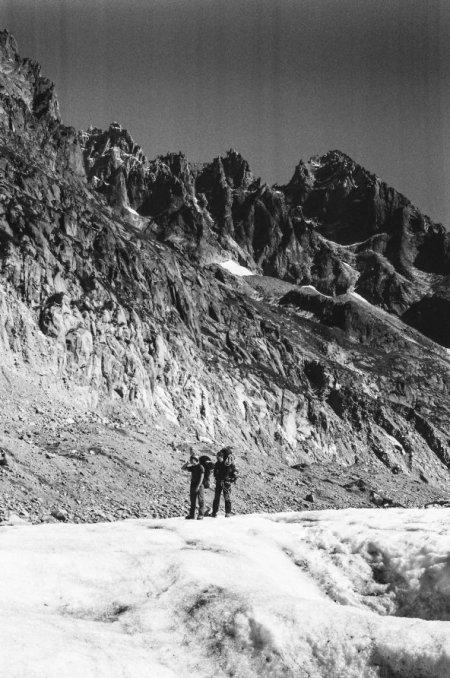 Mer de glace le retour - panorama 2