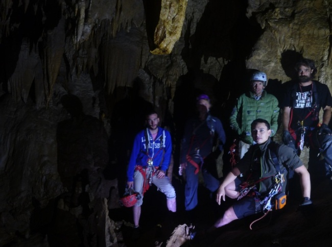 saventurer - trou du boeuf - grotte