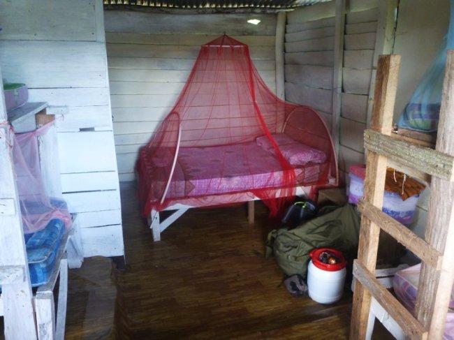 Ma cabane grand luxe au Campamento Jaguar